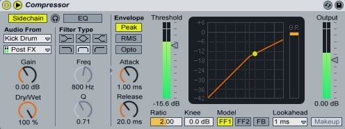 Ableton Live - Side-Chain Compression
