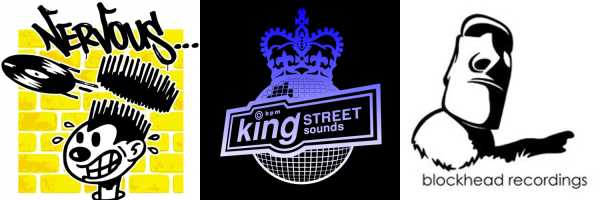 Nervous Records, King Street Sounds & Blockhead Recordings