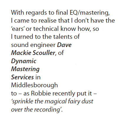 Dynamic Mastering Services Mention in Babbling Brook Newsletter
